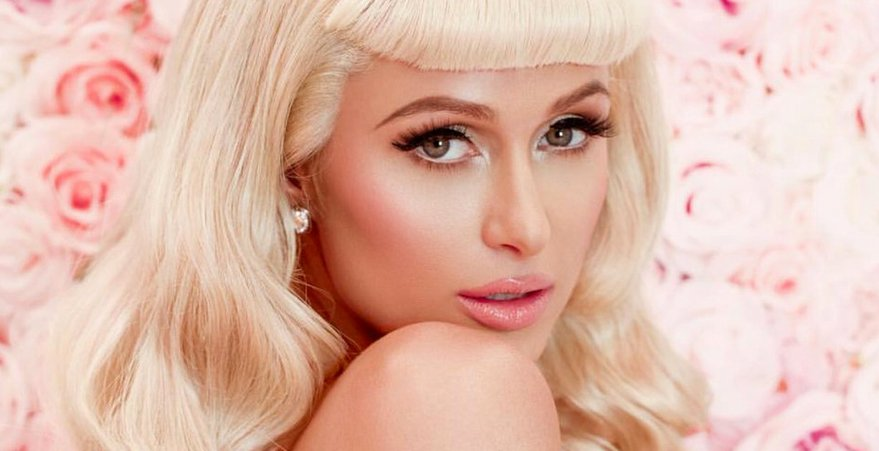 Paris Hilton posed single for promotes new song video